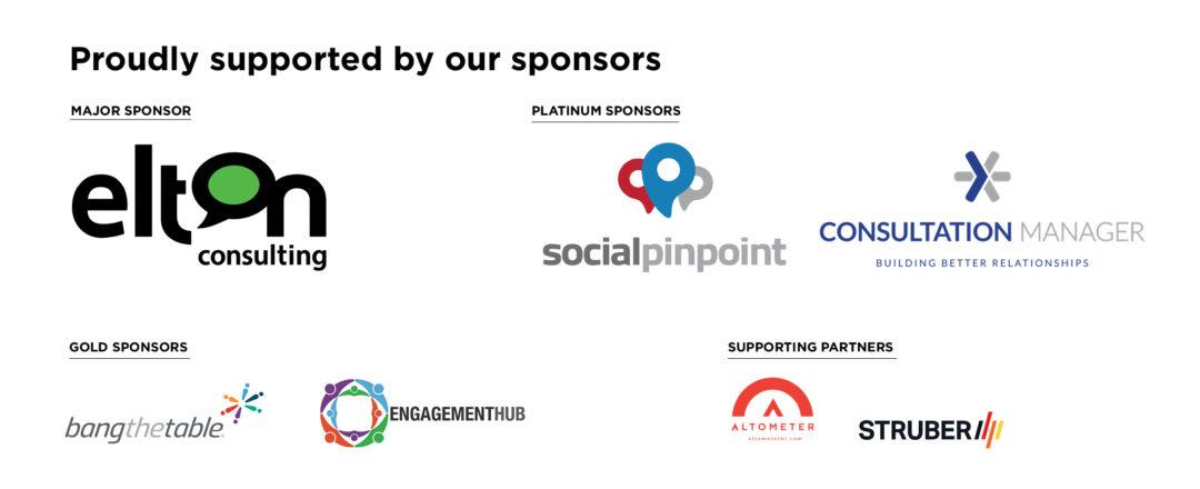 Community Engagement Summit Sponsors